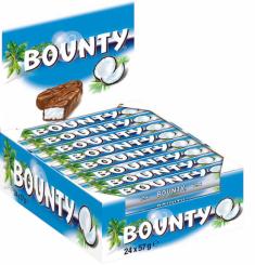 Bounty Vollmilch 57gr Stück