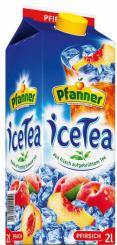 Pfanner Eistee Pfirsich 6x2,0L